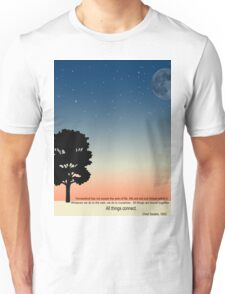 Think about the Earth Unisex T-Shirt