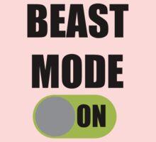 Beast Mode ON One Piece - Long Sleeve