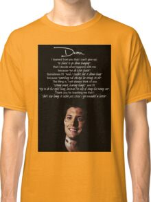 Letter to Dean Classic T-Shirt
