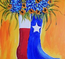 Bluebonnets, Boot & The Lone Star State by Terri Holland