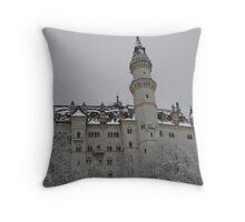 Maerchenschloss Throw Pillow