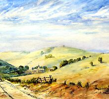 Summer Landscape by Colin Cartwright
