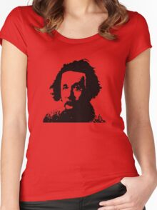 Einstein is not Che Women's Fitted Scoop T-Shirt