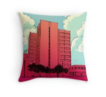 Bldng Throw Pillow