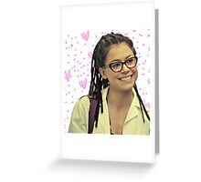 Orphan black Cosima Greeting Card