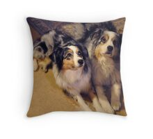 Youth and Age Throw Pillow