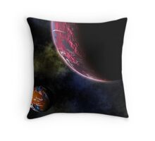 Planets in the Cosmos Throw Pillow