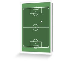 SPORT PERSPECTIVE - FOOTBALL Greeting Card