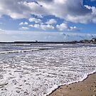 Lyme Regis Seascape by Susie Peek