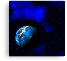 Blue World Canvas Print