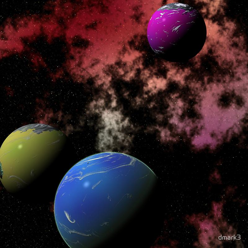 Orbiting Worlds by dmark3