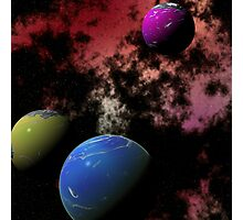 Orbiting Worlds Photographic Print