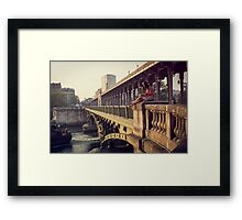 A great place to read Framed Print