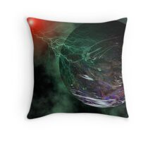 Death of a Planet Throw Pillow