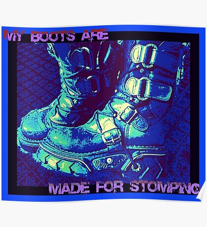 Made for Stomping Poster