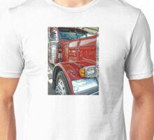 red peterbilt truck Unisex T-Shirt