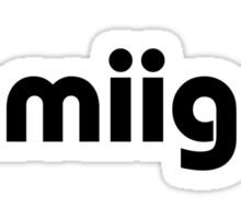 Amiigo Sticker