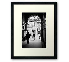 Following Framed Print