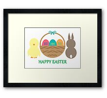 Easter Basket  Framed Print