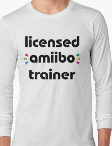 Licensed amiibo trainer Long Sleeve T-Shirt