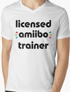 Licensed amiibo trainer Mens V-Neck T-Shirt