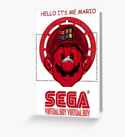 It Is Me Mario Greeting Card