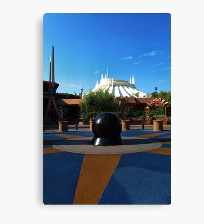 Space The Mountain Canvas Print