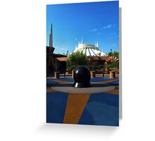 Space The Mountain Greeting Card