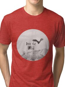 Into the WILD Tri-blend T-Shirt