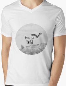 Into the WILD Mens V-Neck T-Shirt