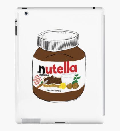 Nutella Drawing iPad Case/Skin