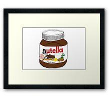Nutella Drawing Framed Print