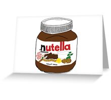Nutella Drawing Greeting Card