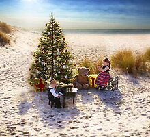 Christmastime on the Beach by Kristen  Caldwell