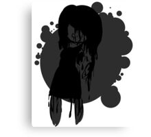 Ink stains Canvas Print