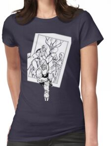 Vigil Pinup #4 Womens Fitted T-Shirt