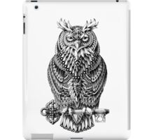 Great Horned Owl iPad Case/Skin