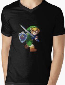 Lego Link Mens V-Neck T-Shirt