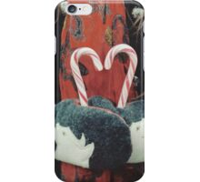 Candy cane love iPhone Case/Skin