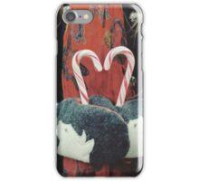 Candy cane love iPhone Case/Skin