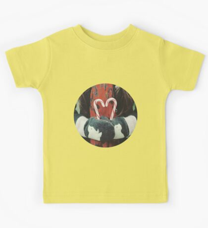 Candy cane love Kids Tee