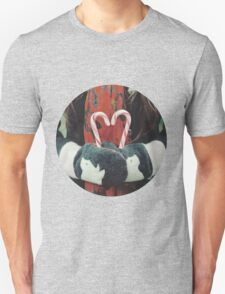 Candy cane love Unisex T-Shirt