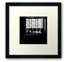 Modern days Framed Print
