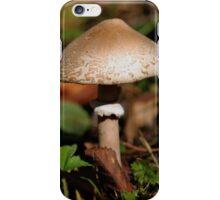mushrooms iPhone Case/Skin