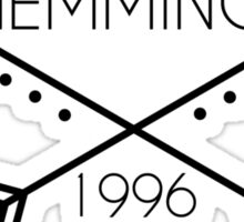 Hemmings 1996 Sticker