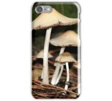 mushrooms iPhone Case/Skin