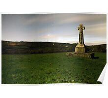 Dysert O'Dea Celtic Cross Poster