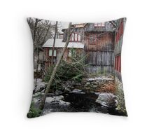 The 1760 Old Mill 2 of 3 Throw Pillow