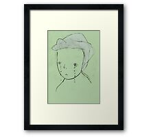 sad from an early age (2015) Framed Print