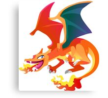 Charizard 009 Canvas Print